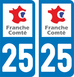 sticker 25 - Doubs