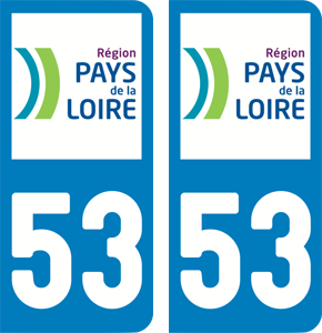 sticker 53 - Mayenne