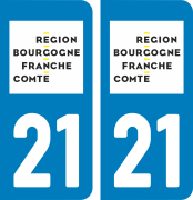 sticker 21 - Côte d Or 2017
