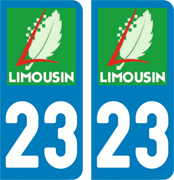 sticker 23 - Creuse