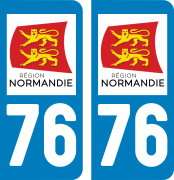 sticker 76 - Seine-Maritime